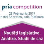 PRIA Competition, cel mai important eveniment dedicat concurenței, are loc pe 28 februarie