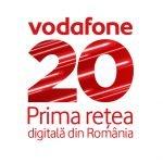 Vodafone sărbătorește 20 de ani pe piața din România