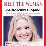 Alina Dumitraşcu (Enel România), speakerul evenimentului MEET THE WOMAN