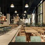 Se deschide cel mai mare restaurant dintr-o clădire de birouri: Are peste 1.000 metri pătraţi