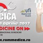 Joi începe, la Romexpo, ROMMEDICA – Târgul Internațional de Medicină și Farmacie