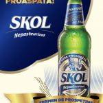 SKOL a lansat un nou sortiment de bere