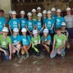 Habitat for Humanity România: 23 de elevi irlandezi prezenți pe șantier în Mediaș