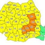 Atenţionare meteo: Furtuni în toată ţara