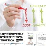 """Conferinţa """"Soluţii rentabile pentru eficienţă energetică"""" va avea loc pe 19 octombrie, la Braşov"""