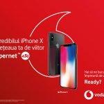 iPhone X, disponibil în magazinele Vodafone România din 3 noiembrie