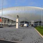 Elis Pavaje a livrat pavele şi borduri pentru noul stadion din Craiova