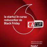 Vodafone anunţă reduceri importante de Black Friday