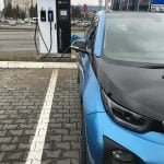 MOL a deschis în Bucureşti prima staţie de încărcare pentru maşini electrice