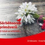 Auchan lansează o campanie pentru Mărțișor și Ziua Femeii