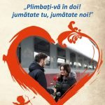 CFR: 50% reducere de Valentine's Day şi Dragobete