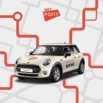 PONY extinde serviciul de carsharing și în București