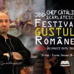 Spectacol culinar tradițional cu Chef Scărlătescu la Mega Mall