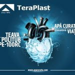 TeraPlast estimează vânzări de peste 6 milioane de metri de țevi din polietilenă