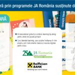 Junior Achievement și Raiffeisen continuă programul de educaţie financiară destinat elevilor