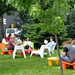 Parcul de afaceri Novo Park introduce WIFI gratuit și mobilier de relaxare în zonele exterioare