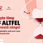 Campanie de donare sânge în Sun Plaza
