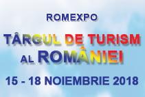 Târgul de Turism al României ediţia de toamnă 2018 are loc în perioada 15-18 noiembrie