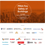 Evenimentul PRIA Fire Safety of Buildings 2018 are loc pe 25 octombrie
