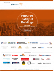 Evenimentul PRIA Fire Safety of Buildings 2018