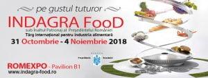INDAGRA FOOD 2018 Romexpo
