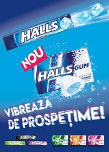 guma de mestecat Halls