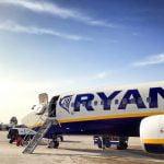 Rezultate Ryanair 2018: 1,3 milioane de pasageri transportaţi şi 400 de curse anulate