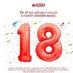 Profi sărbătorește 18 ani în România