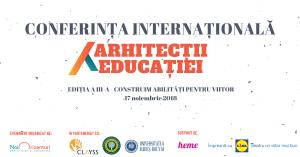 Conferinta Arhitectii Educatiei 2018