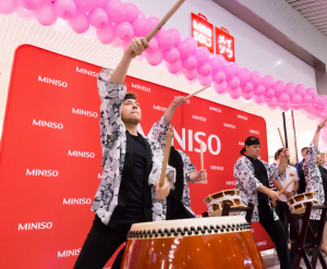 Magazin MINISO Mega Mall.