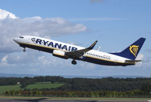 Ryanair zbor Bucuresti - Pisa.