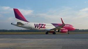 Wizz Air curse Cluj - Lyon