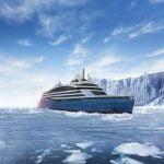 Tabla de la ArcelorMittal Galați, folosită pentru o navă de croazieră polară