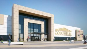 Centrul comercial Colosseum extindere - Finantare