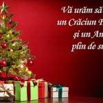 Mesaje corporate și felicitări business pentru Crăciun
