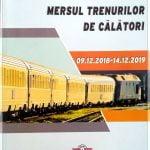 Mersul Trenurilor 2019. Anunțul făcut de CFR Călători