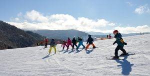 Partie schi Campulung Moldovenesc