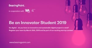 Competitia Be an Innovator Student 2019