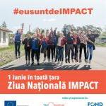 De 1 iunie, 3000 tineri spun în același timp #eusuntdeIMPACT
