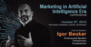 Conferinta Marketing in Artificial Intelligence Era 2019