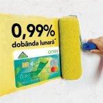 LEROY MERLIN lansează un card de cumpărături. Ce dobânzi are?