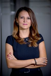 Patria Bank director general Daniela Iliescu