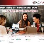 Romanian Workplace Management Forum 2019 va avea loc pe 16 aprilie