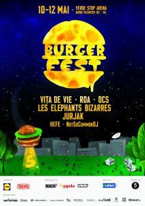 BURGERFEST 2019 Bucuresti. Program 10,11,12 mai 2019