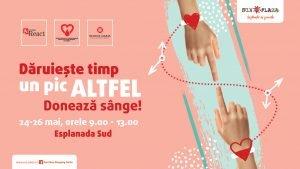 Campanie de donare sange in Sun Plaza 2019
