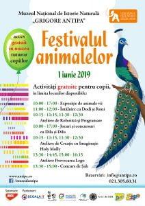 Muzeul Antipa program 1 Iunie 2019