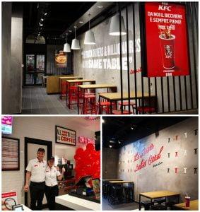 Sphera Franchise restaurant KFC Bologna