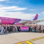 Wizz Air sărbătorește 15 ani de la primul său zbor