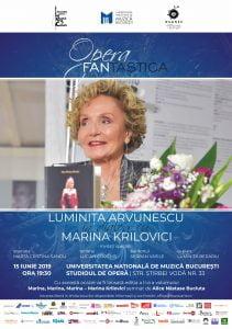 OPERA FANtastica 2019 - Invitat: Marina Krilovici