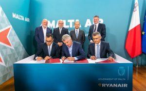 Ryanair preia Malta Air